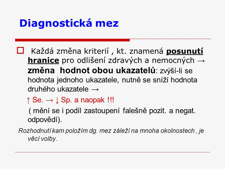 Diagnostická mez