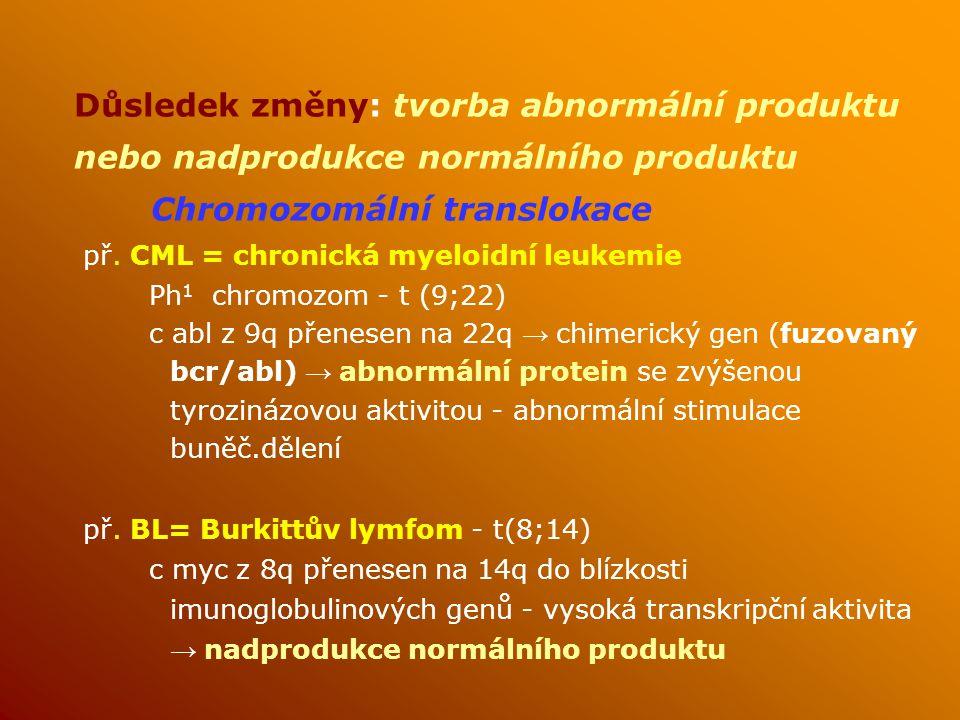 Chromozomální translokace