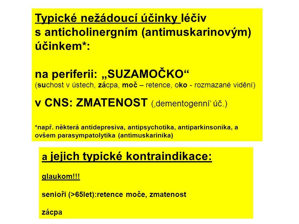 """na periferii: """"SUZAMOČKO v CNS: ZMATENOST ('dementogenní' úč.)"""