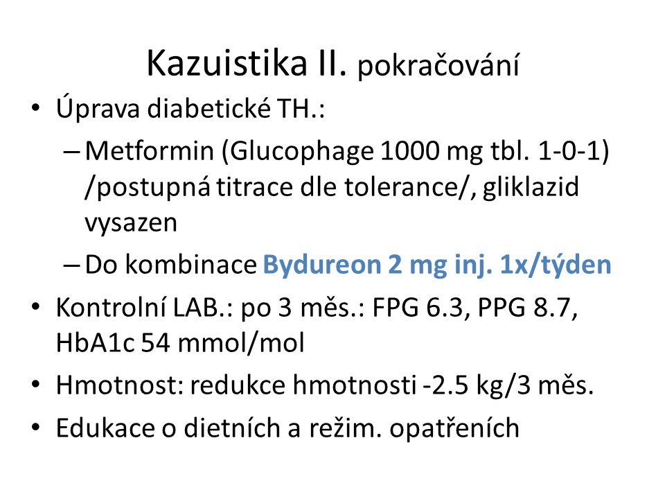 Kazuistika II. pokračování