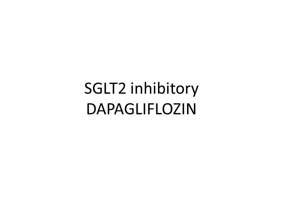 SGLT2 inhibitory DAPAGLIFLOZIN