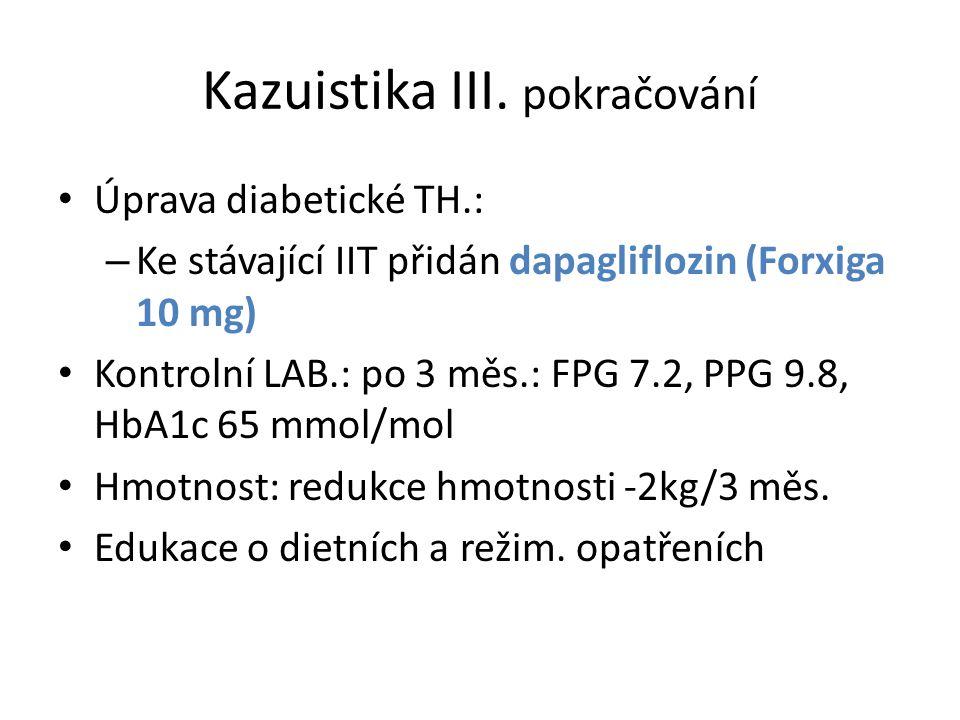 Kazuistika III. pokračování