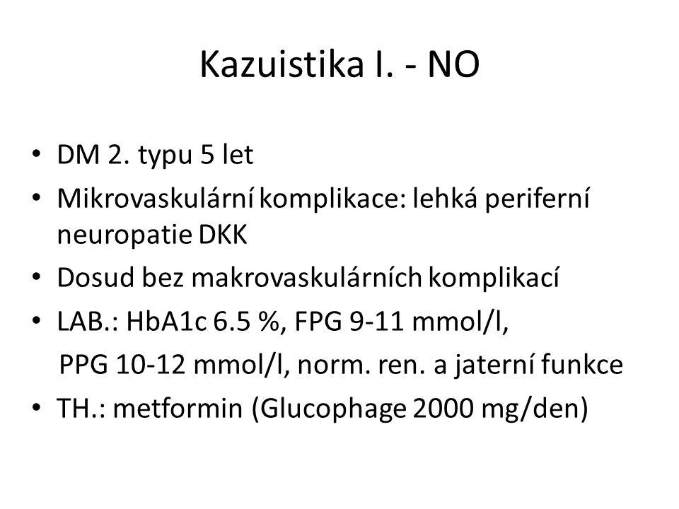 Kazuistika I. - NO DM 2. typu 5 let