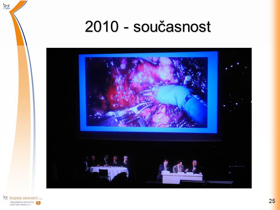 2010 - současnost