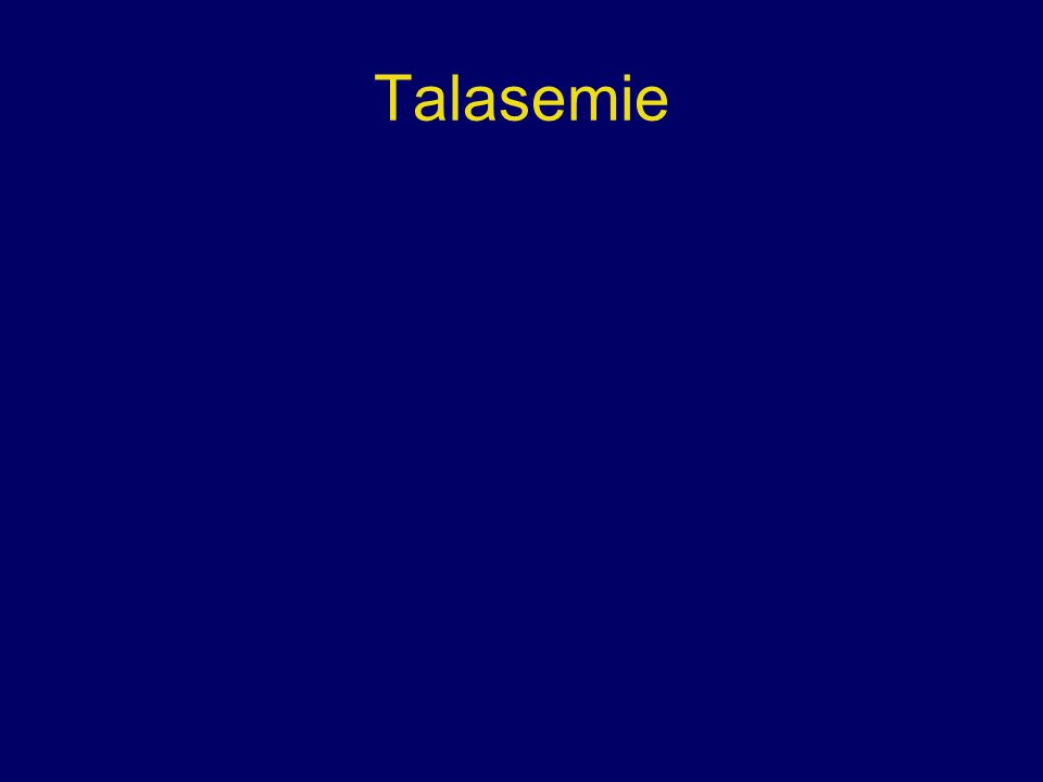 Talasemie