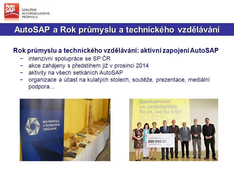 AutoSAP a Rok průmyslu a technického vzdělávání