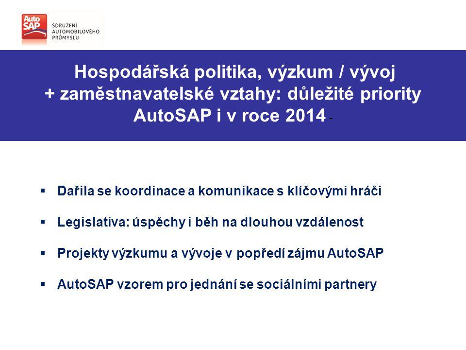 + zaměstnavatelské vztahy: důležité priority AutoSAP i v roce 2014 -