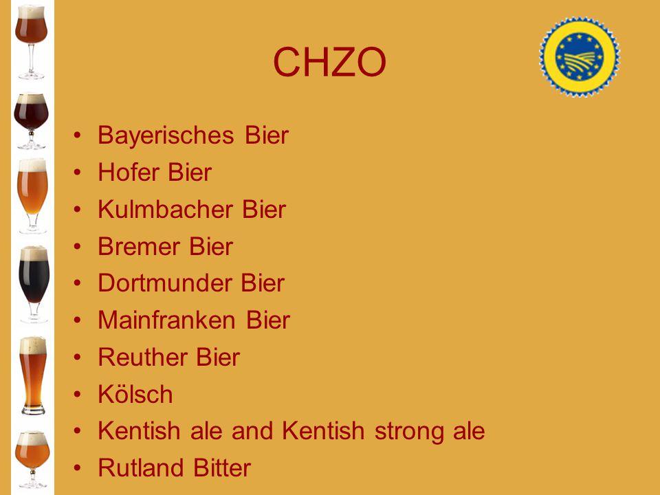 CHZO Bayerisches Bier Hofer Bier Kulmbacher Bier Bremer Bier
