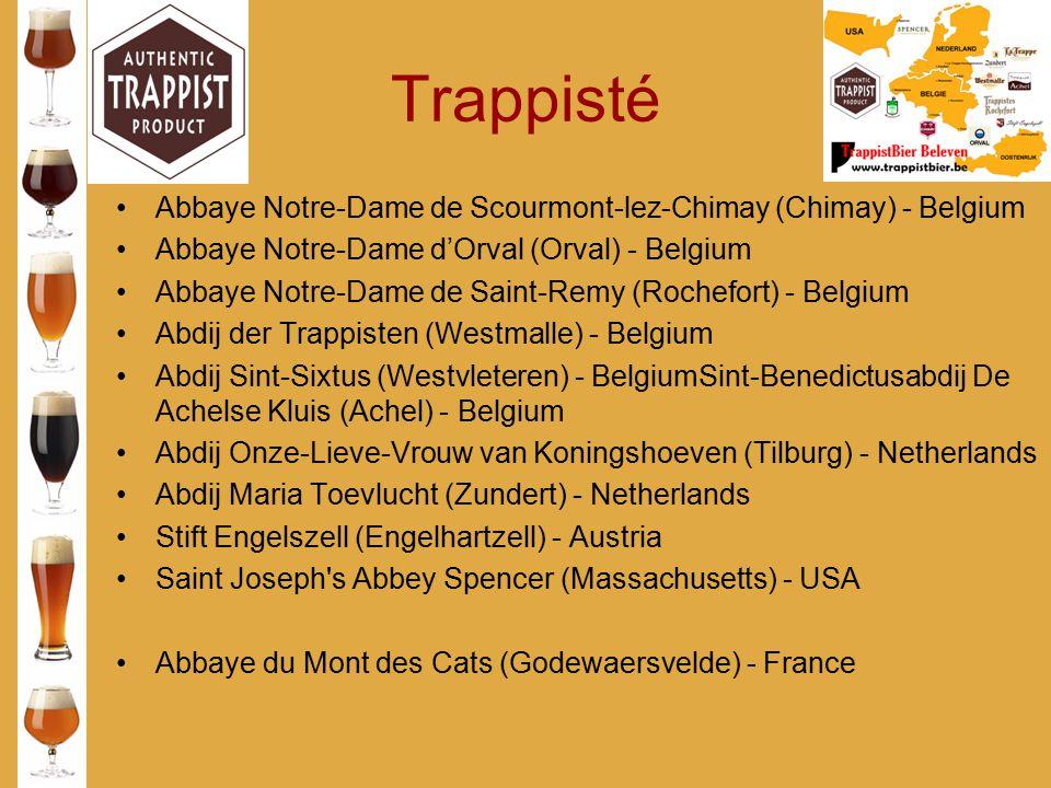 Trappisté Abbaye Notre-Dame de Scourmont-lez-Chimay (Chimay) - Belgium