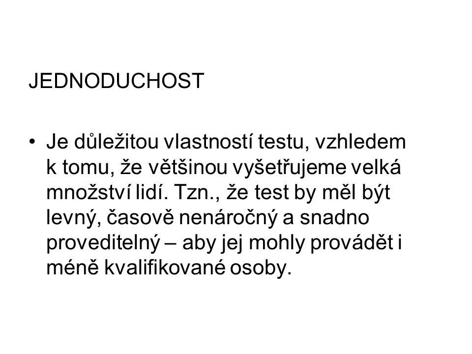 JEDNODUCHOST
