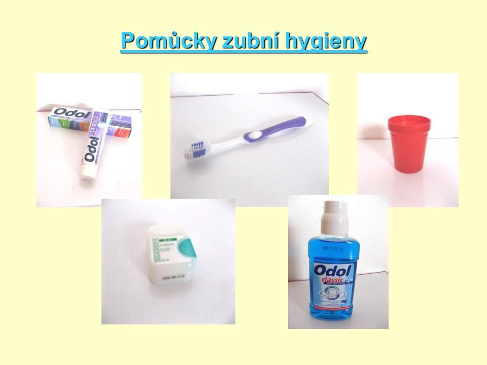Pomůcky zubní hygieny