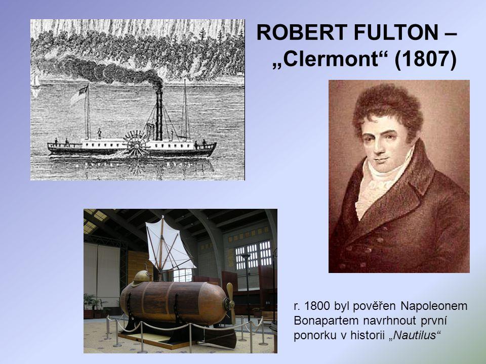 "ROBERT FULTON – ""Clermont (1807)"