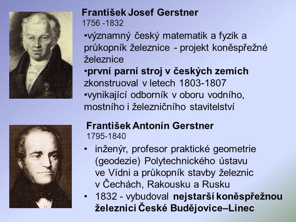 František Josef Gerstner 1756 -1832