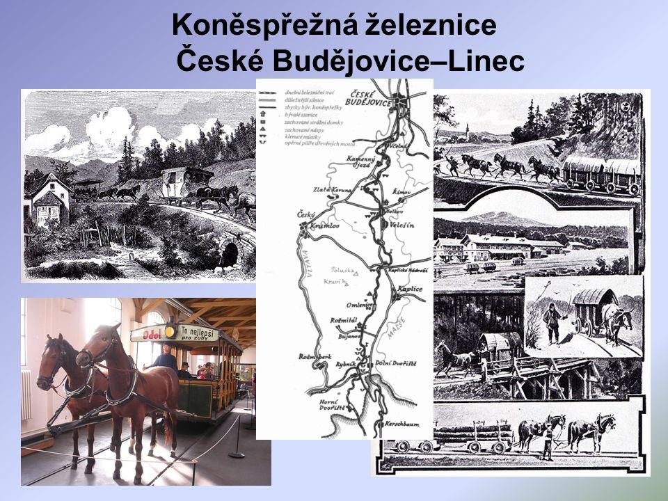Koněspřežná železnice České Budějovice–Linec