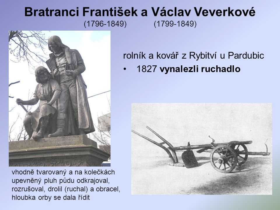 Bratranci František a Václav Veverkové (1796-1849) (1799-1849)