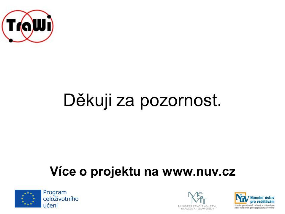 Více o projektu na www.nuv.cz