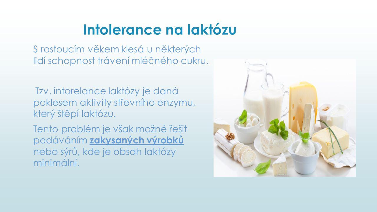 Intolerance na laktózu