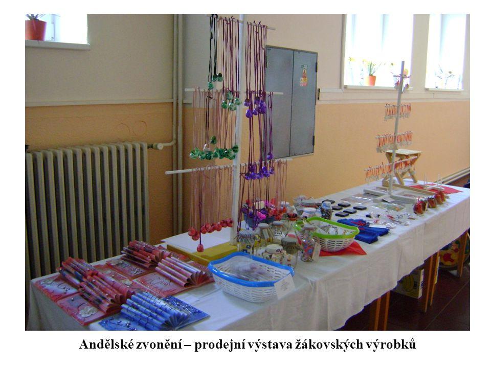 Andělské zvonění – prodejní výstava žákovských výrobků