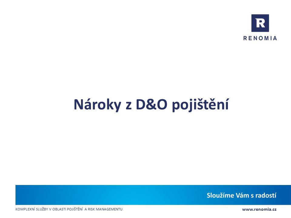 Nároky z D&O pojištění