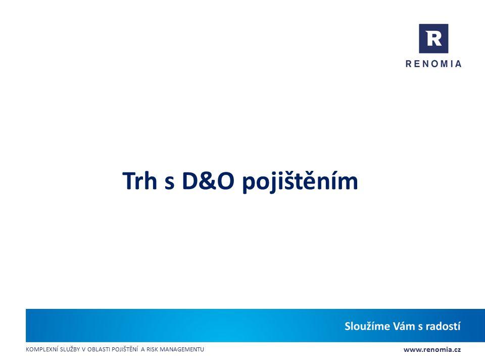Trh s D&O pojištěním