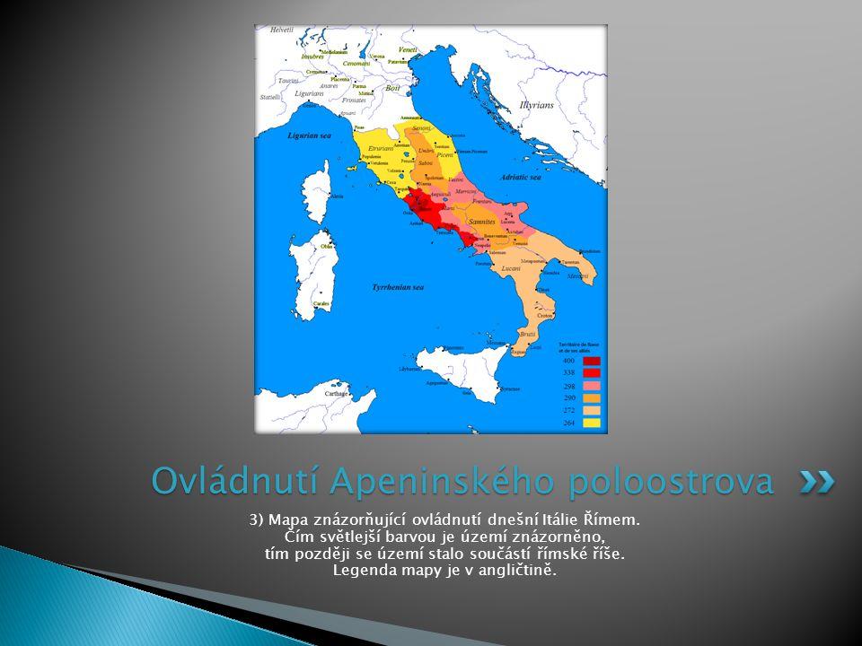 Ovládnutí Apeninského poloostrova