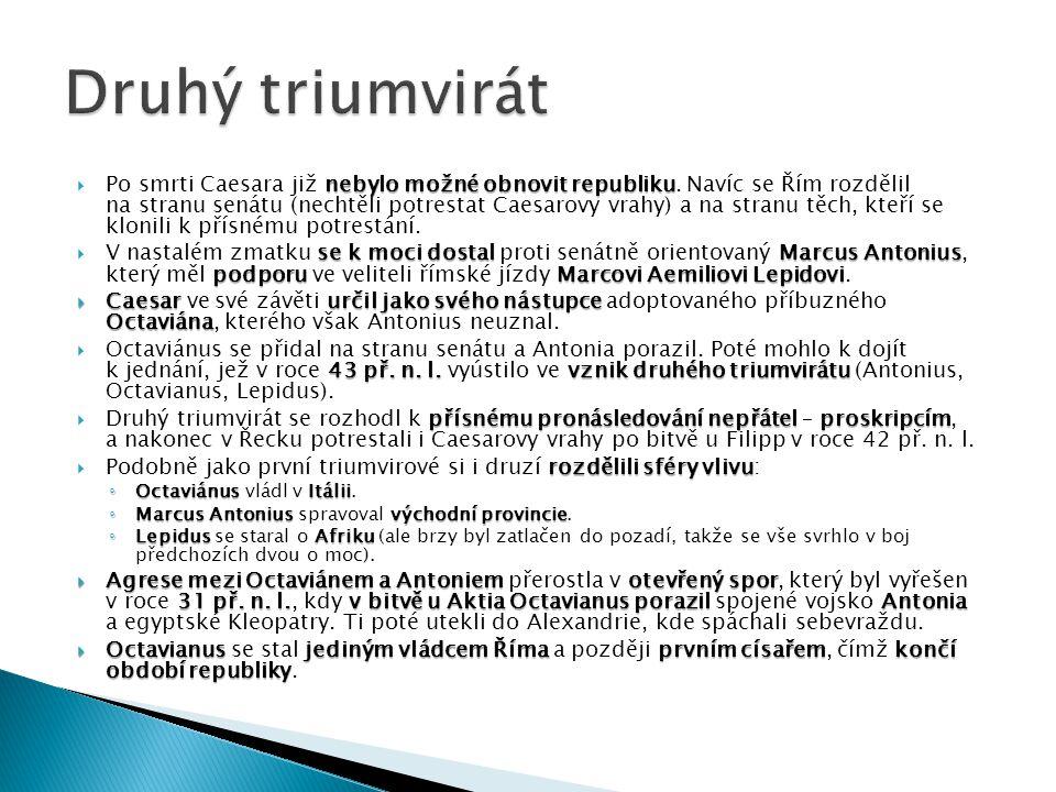 Druhý triumvirát