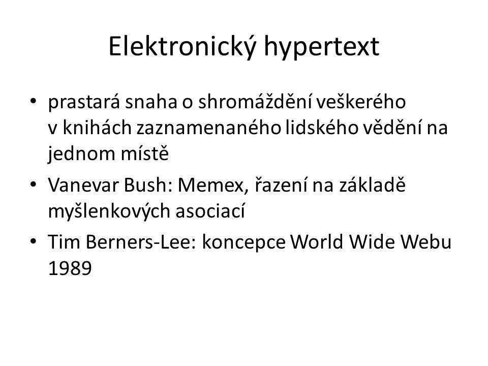 Elektronický hypertext