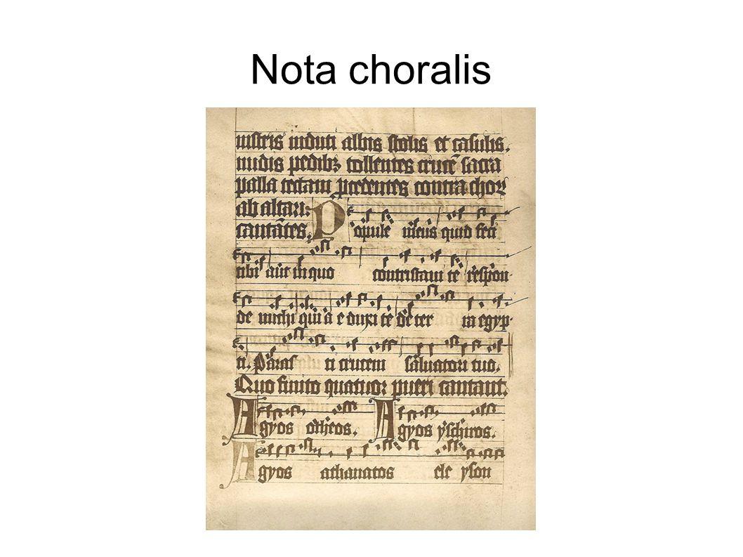 Nota choralis