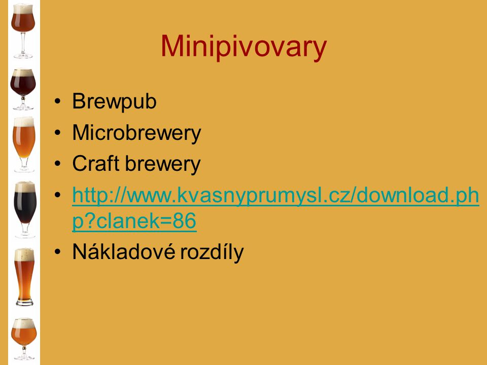 Minipivovary Brewpub Microbrewery Craft brewery