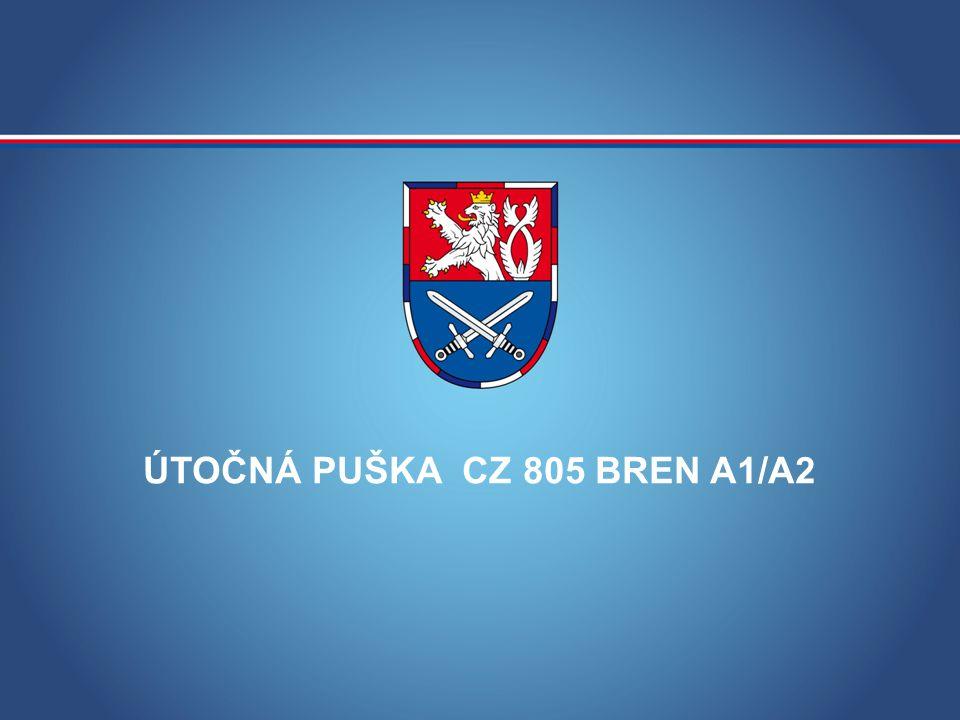ÚTOČNÁ PUŠKA CZ 805 BREN A1/A2