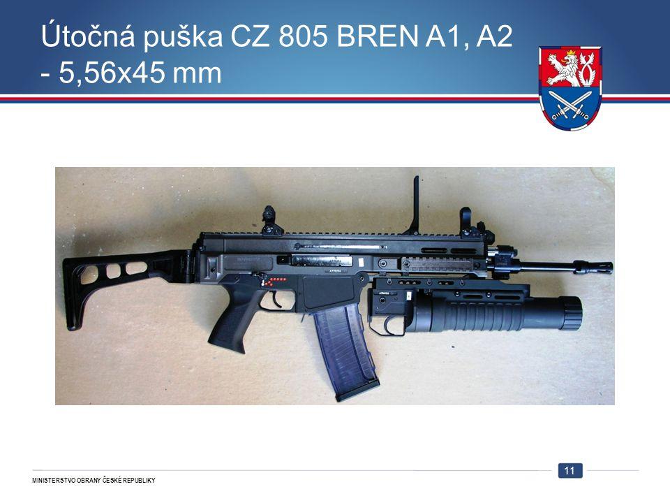 Útočná puška CZ 805 BREN A1, A2 - 5,56x45 mm