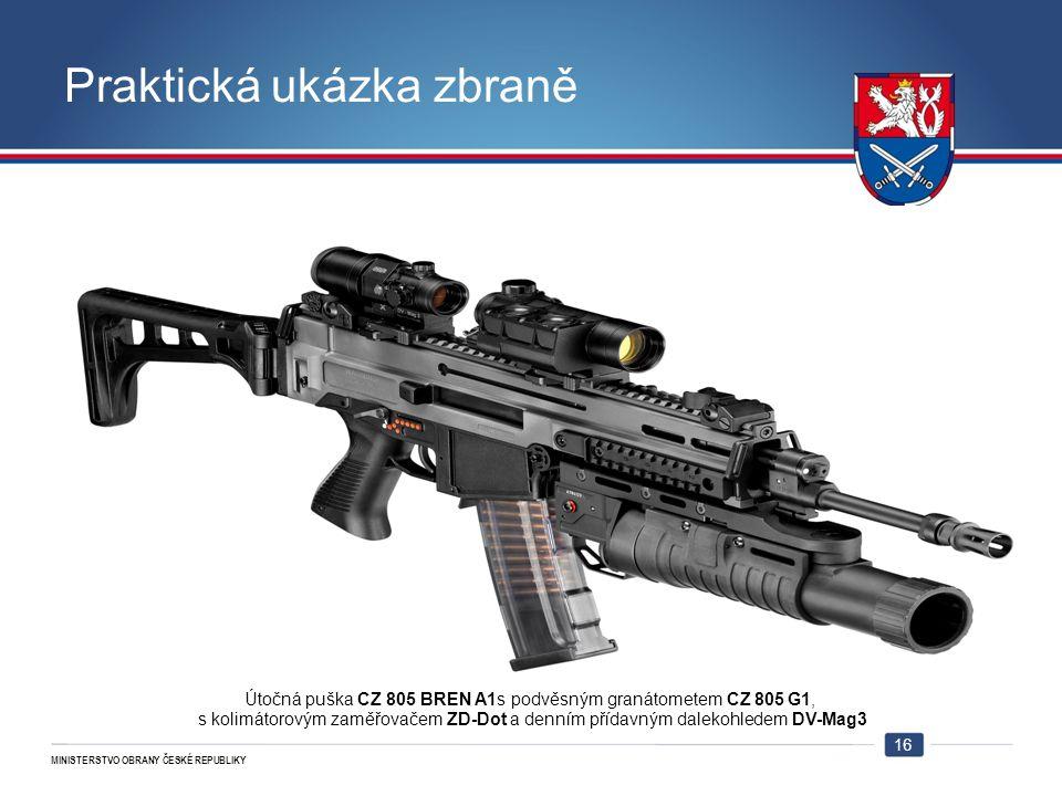 Praktická ukázka zbraně