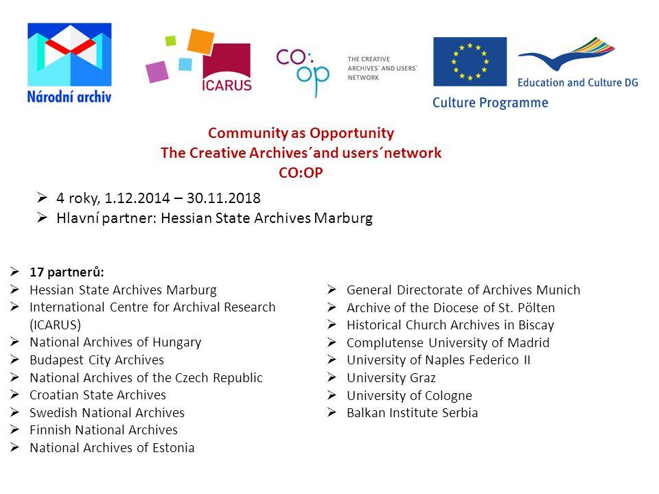 Hlavní partner: Hessian State Archives Marburg