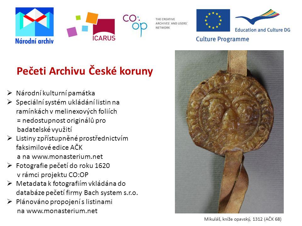 Pečeti Archivu České koruny
