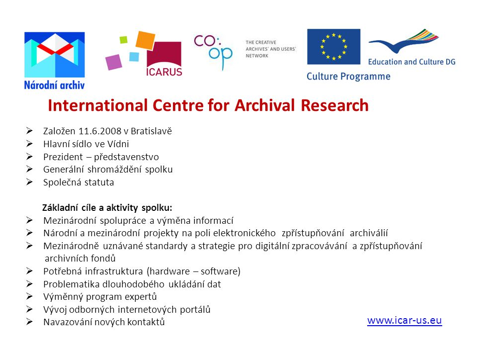 International Centre for Archival Research