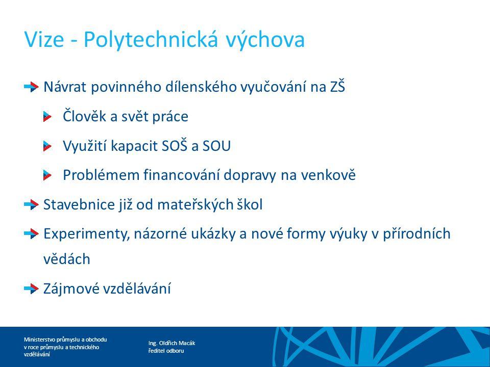 Vize - Polytechnická výchova