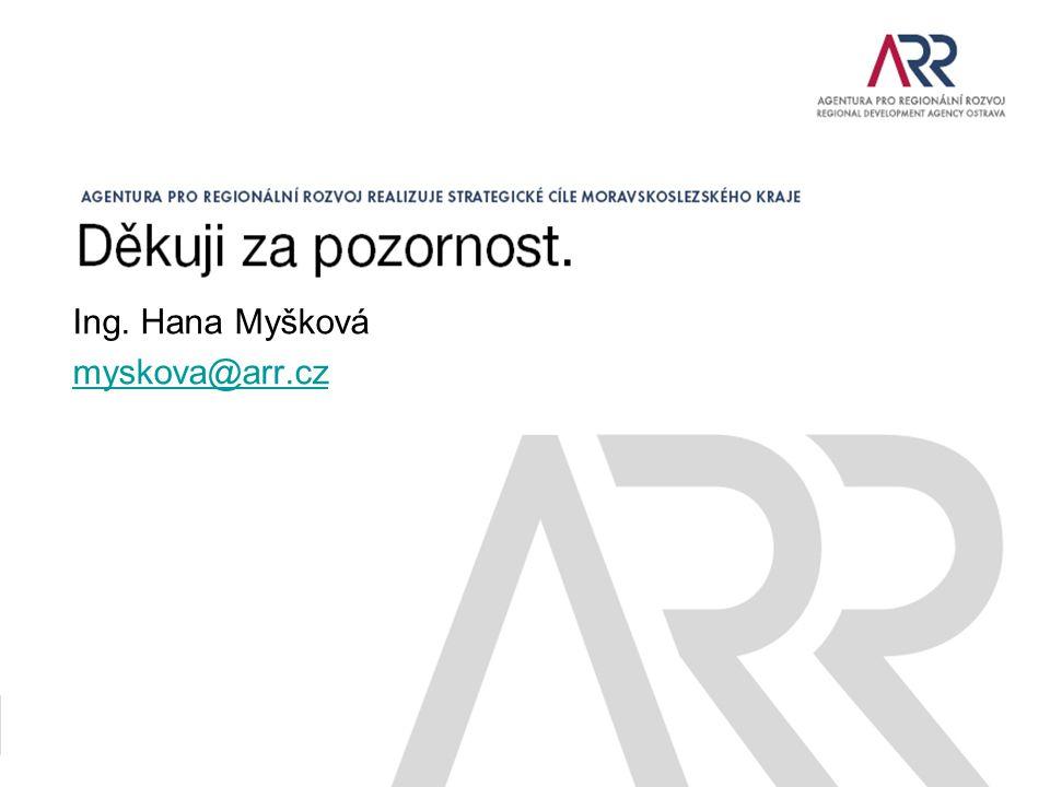 Ing. Hana Myšková myskova@arr.cz