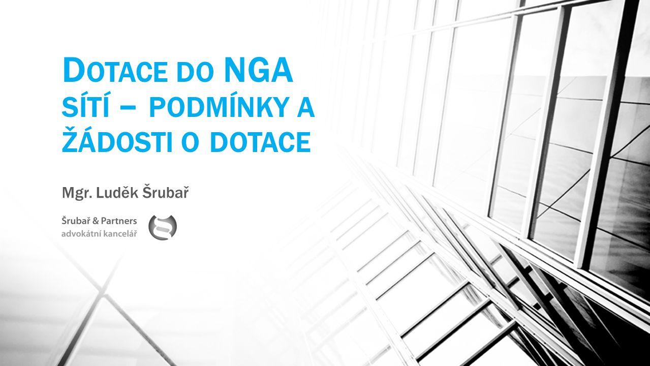 Dotace do NGA sítí – podmínky a žádosti o dotace