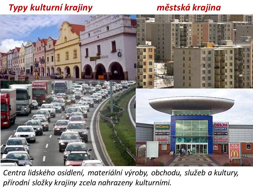 Typy kulturní krajiny městská krajina
