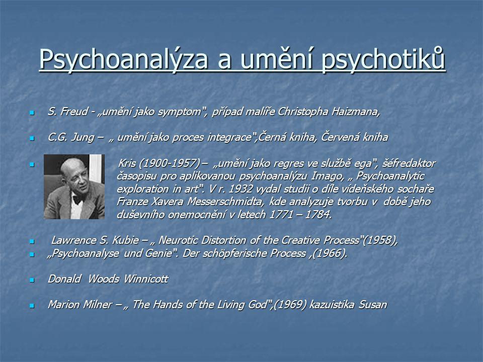 Psychoanalýza a umění psychotiků