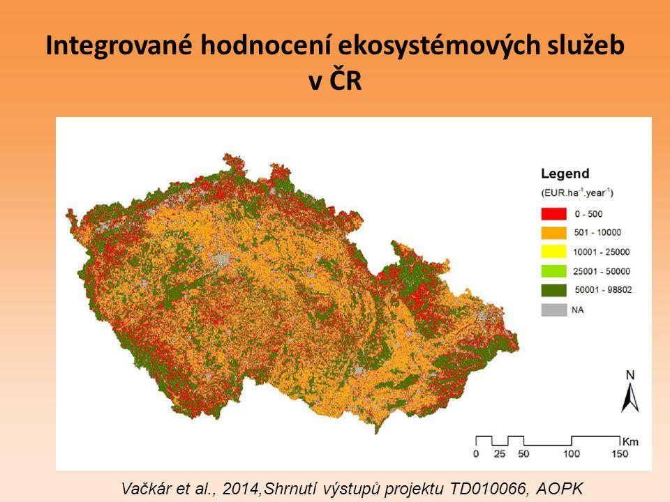 Integrované hodnocení ekosystémových služeb v ČR