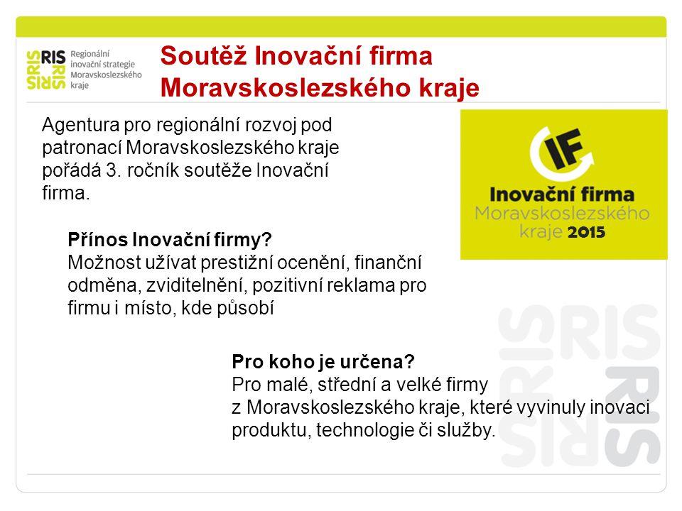 Soutěž Inovační firma Moravskoslezského kraje