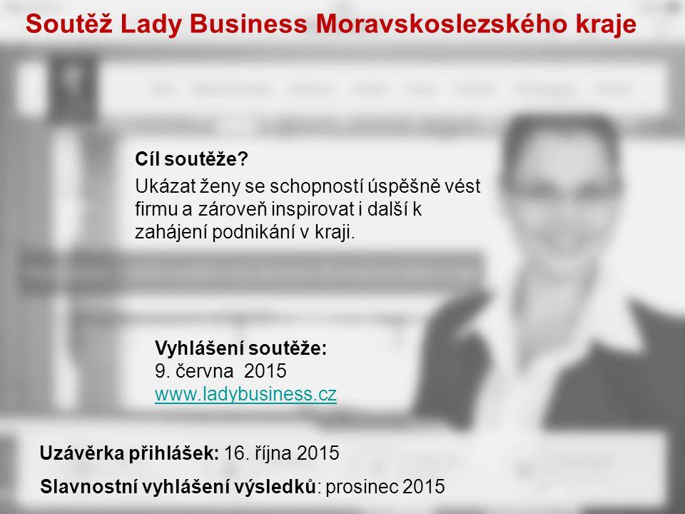 Soutěž Lady Business Moravskoslezského kraje