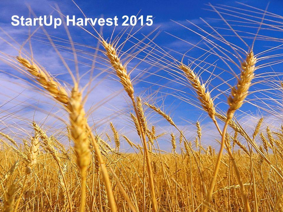 StartUp Harvest 2015 StartUp Harvest