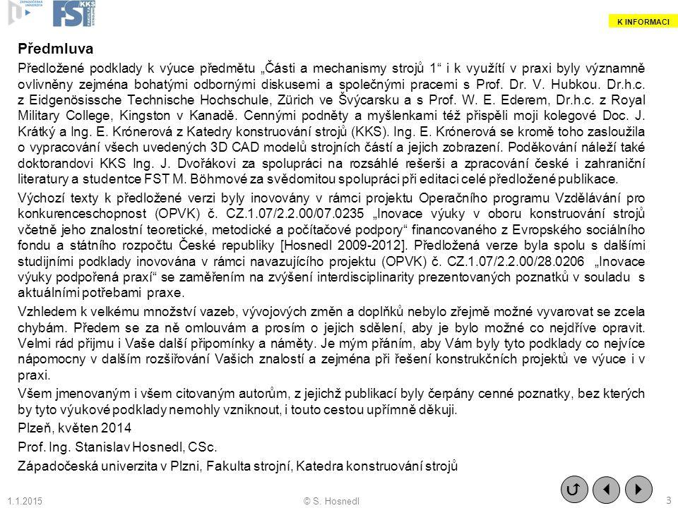 05.03.2010 K INFORMACI. Předmluva.