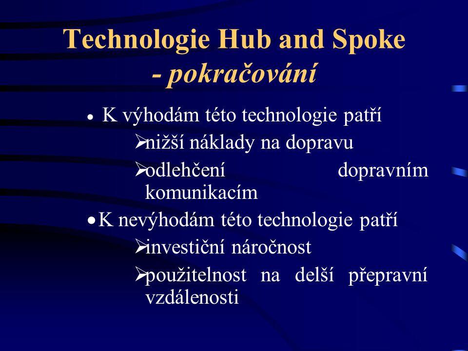 Technologie Hub and Spoke - pokračování