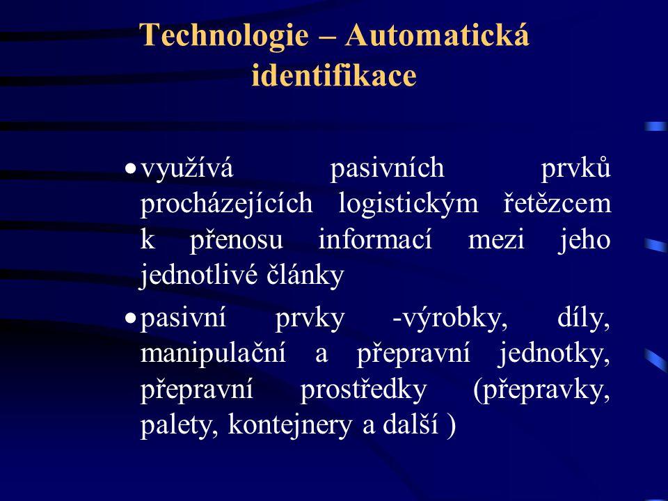 Technologie – Automatická identifikace
