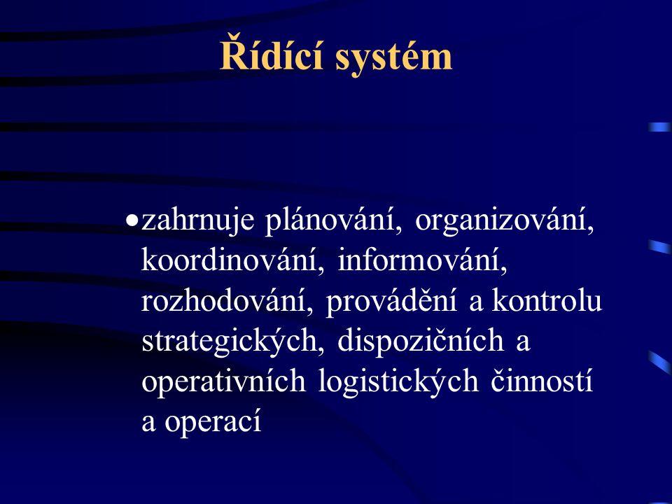 Řídící systém