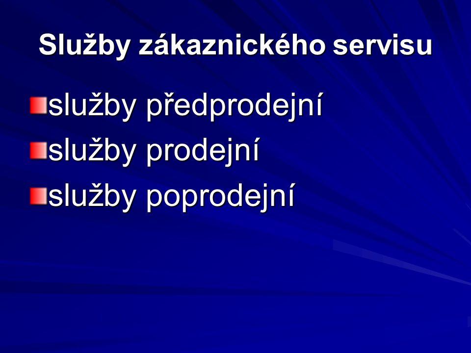Služby zákaznického servisu