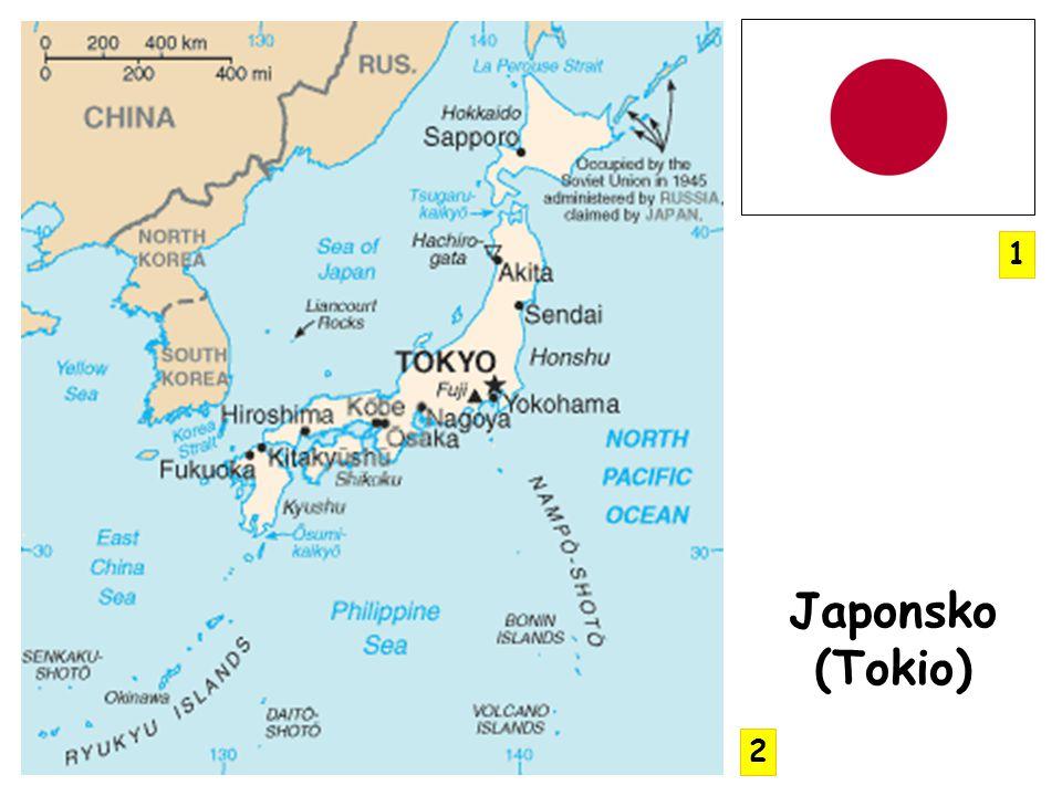 1 Japonsko (Tokio) 2